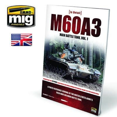 Ammo by Mig - M60A3 Main Battle Tank Vol. 1 in Detail # MIG-5953