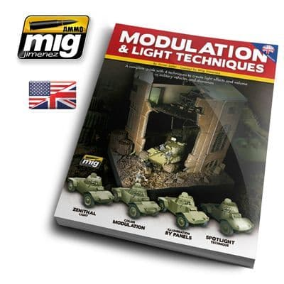 Ammo by Mig - Modulation & Light Techniques Guide Book # MIG-6005