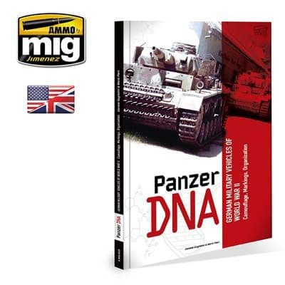 Ammo by Mig - Panzer DNA Hardback Book # MIG-6035