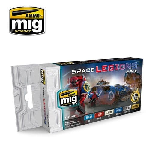 Ammo by Mig - Space Legions Acrylic Paint Set # MIG-7153