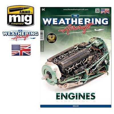 Ammo by Mig - The Weathering Aircraft Issue 3 Engines # MIG-5203