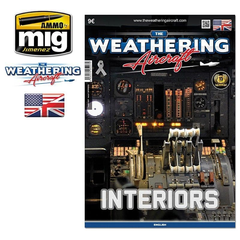 Ammo by Mig - The Weathering Aircraft Issue 7 Interiors # MIG-5207