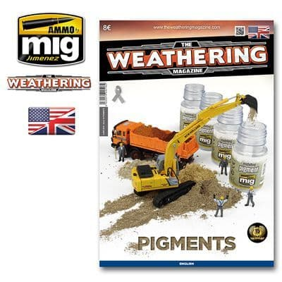 Ammo by Mig - The Weathering Magazine Issue 19 Pigments # MIG-4518