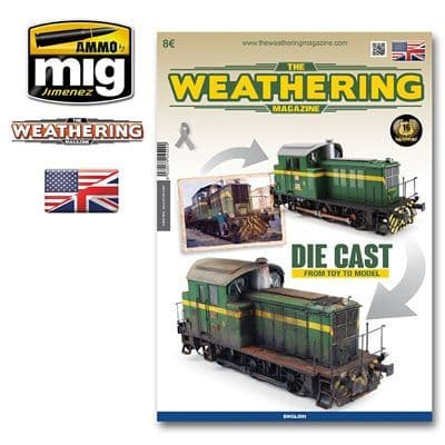 Ammo by Mig - The Weathering Magazine Issue 23 Die Cast from Toy to Model # MIG-4522