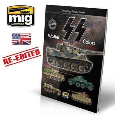 Ammo by Mig - Waffen SS Colors Camouflage Guide Book # 6001