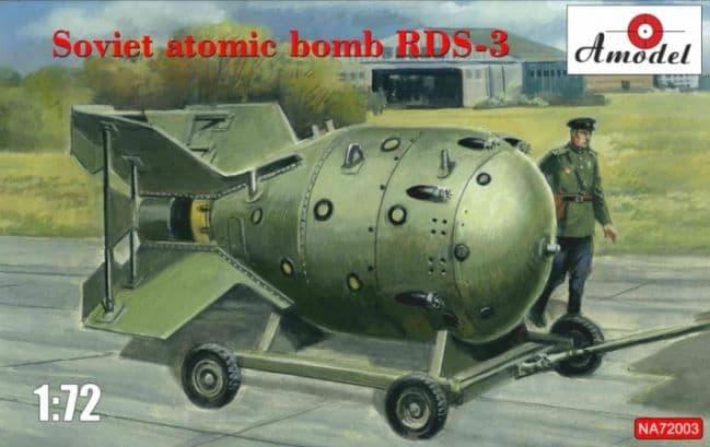 Amodel 1/72 Soviet Atomic Bomb RDS-3 # NA72003