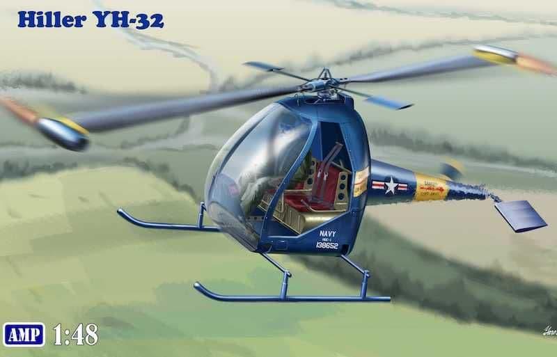 AMP 1/48 Hiller YH-32 U.S. Navy # 48005