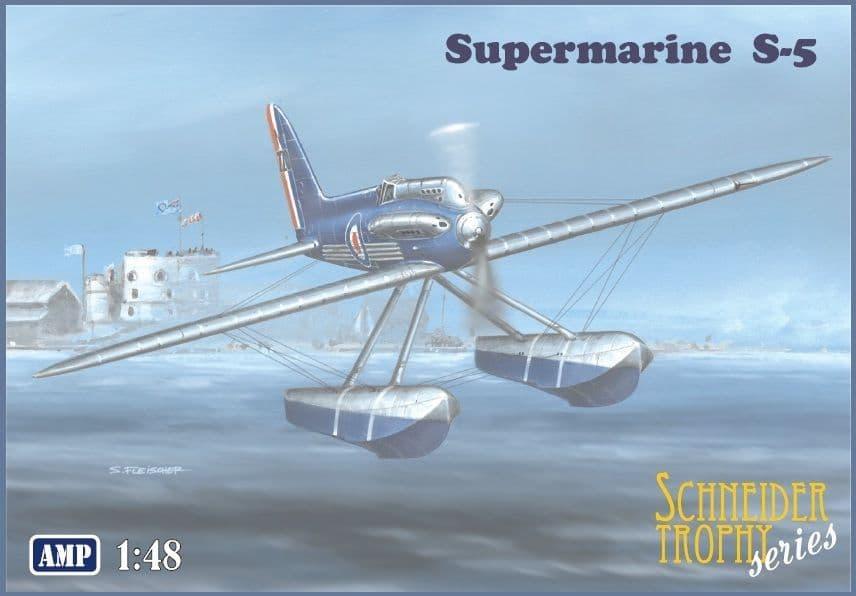 AMP 1/48 Supermarine S-5 Float Plane 'Schneider Trophy Series' # 48009