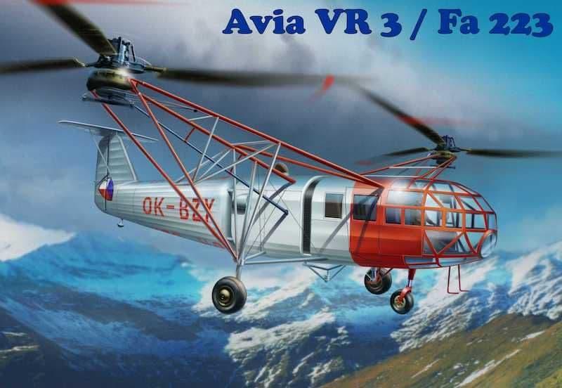 AMP 1/72 Avia VR-3/Focke-Achgelis Fa-223 # 72005