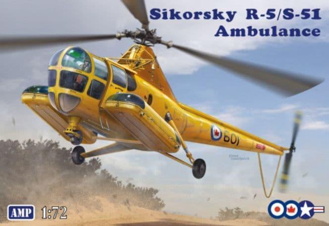 AMP 1/72 Sikorsky R-5/S-51 Ambulance # 72012