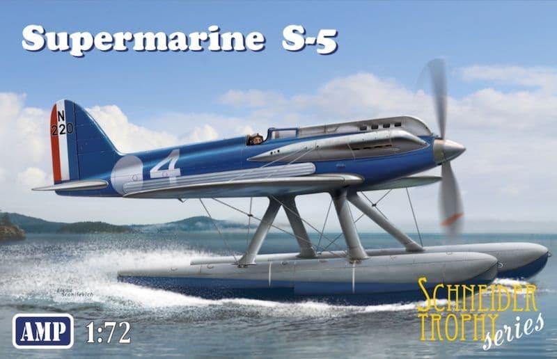 AMP 1/72 Supermarine S.5 Floatplane Schneider Trophy Racer # 72009