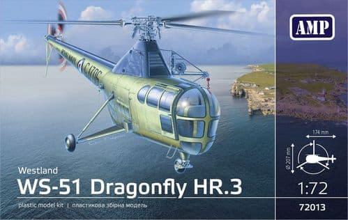 AMP 1/72 Westland WS-51 Dragonfly HR/3 Royal Navy # 72013