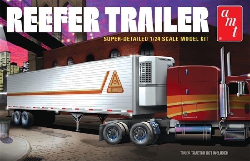 AMT 1/24 Reefer Semi Trailer # 1170