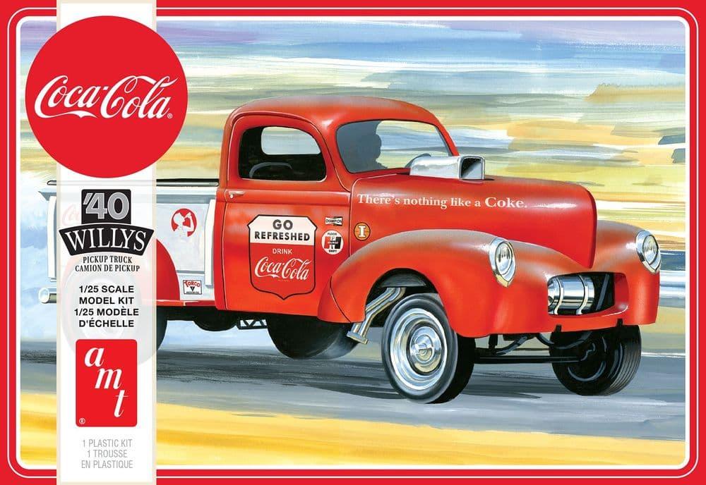 AMT 1/25 1940 Willys Pickup Gasser (Coca-Cola) # 1145