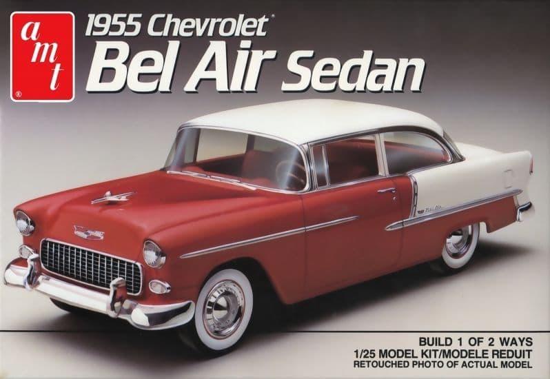 AMT 1/25 1955 Chevy Bel Air Sedan # 1119