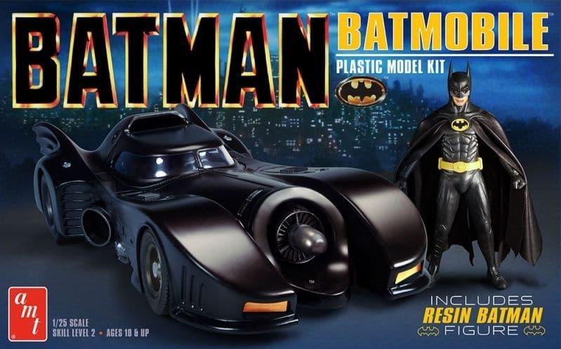 AMT 1/25 Batman 1989 Batmobile with Resin Batman Figure # 1107