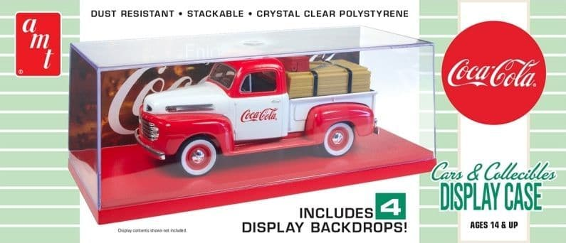 AMT 1/25 Cars & Collectibles Display Case (Coca-Cola) # 1199