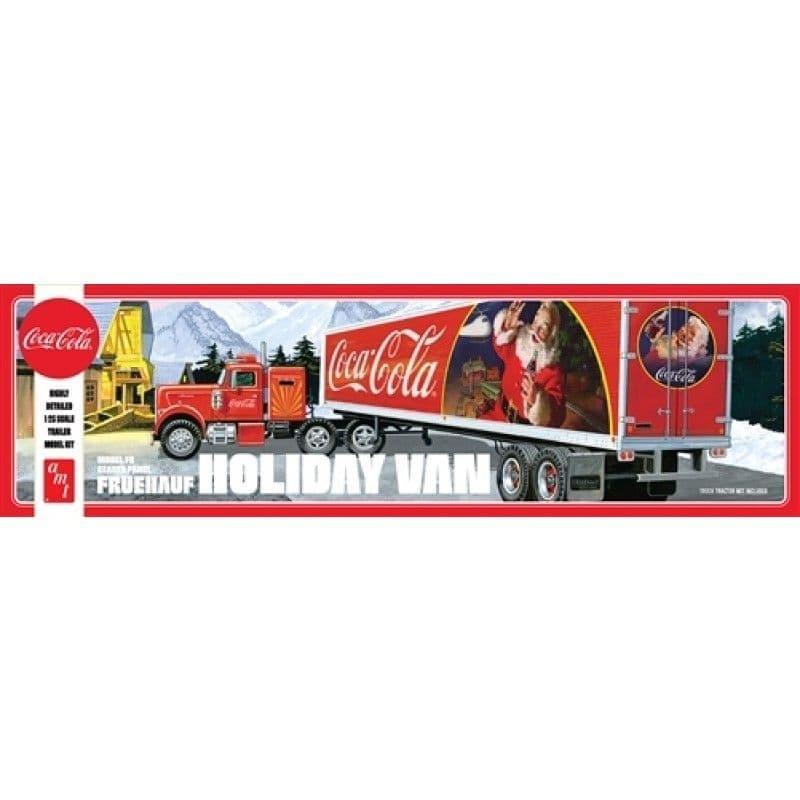 AMT 1/25 Fruehauf Holiday Scheme Hauler Semi Trailer (Coca-Cola) # 1165