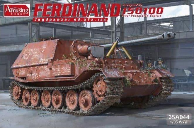 Amusing Hobby 1/35 Ferdinand Sd.Kfz 184 # 35A044
