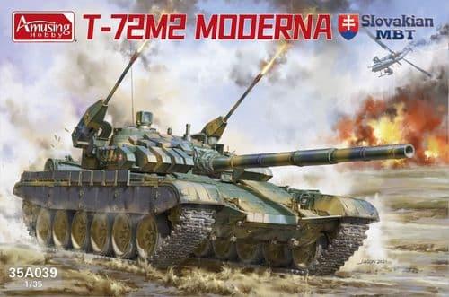 Amusing Hobby 1/35 T-72 M2 Moderna # 35A039