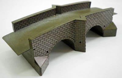 Ancorton Double Arch Road Bridge Kit - N Scale (N-BR5) # 95645