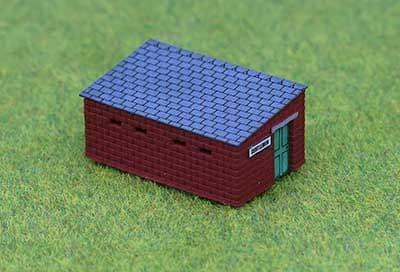 Ancorton N Gauge Public Convenience (Toilet Block) (N3TB3) # 95427