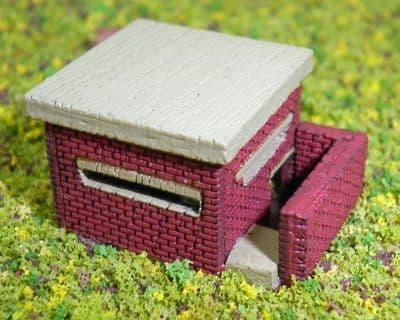 Ancorton N Gauge WWII Pill Box (N3-DP3) # 95690