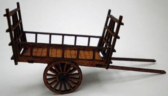 Ancorton OO Gauge Horse Drawn Hay Wain Kit (OOHW1) # 95735