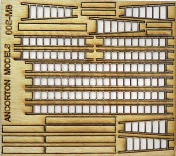 Ancorton OO Gauge Ladders and Planks (OOSM8) # 95742