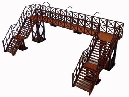 Ancorton OO Gauge Platform Footbridge kit # OOST5