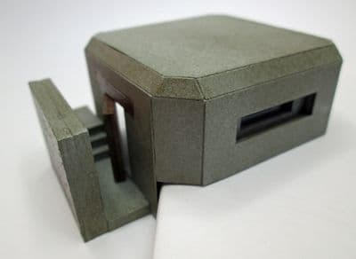 Ancorton OO Gauge World War II Pill Box Kit (OODP2) # 95724
