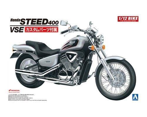 Aoshima 1/12 Honda STEED 400 VSE 1995 No.44 Plastic Model Kit # 053980