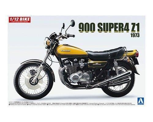 Aoshima 1/12 Kawasaki 900 Super4 Z1 1973 # 05531