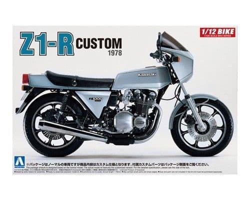Aoshima 1/12 Kawasaki Z1-R Custom 1978 # 05399