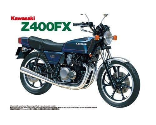Aoshima 1/12 Kawasaki Z400FX # 04151