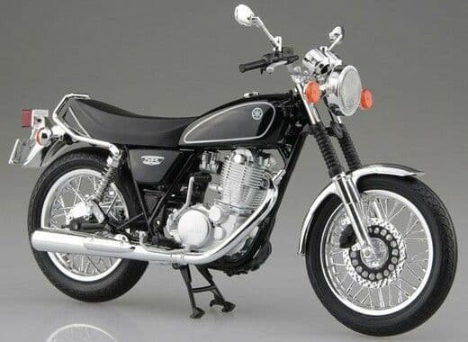Aoshima 1/12 Yamaha SR400 Yamaha Black # 10587