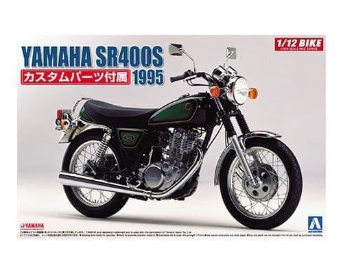 Aoshima 1/12 Yamaha SR400S 1995 Plastic Model Kit # 051665