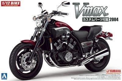 Aoshima 1/12 Yamaha Vmax 2004 with Custom Parts # 05430