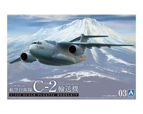 Aoshima 1/144 J.A.S.D.F Transporter C-2 Aircraft # 05508