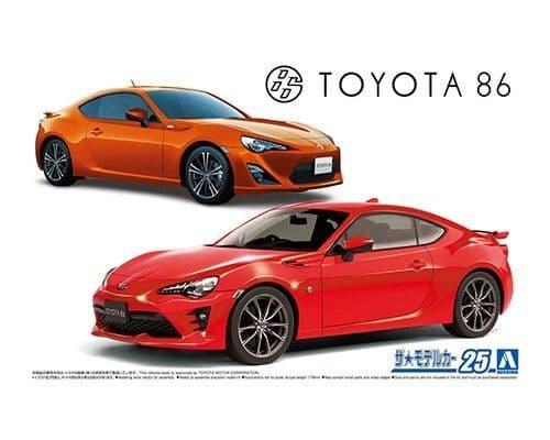 Aoshima 1/24 ZN6 Toyota 86 '12/'16 # 05966
