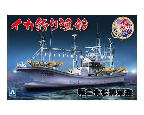 Aoshima 1/64 Squid Fishing Boat # 05030