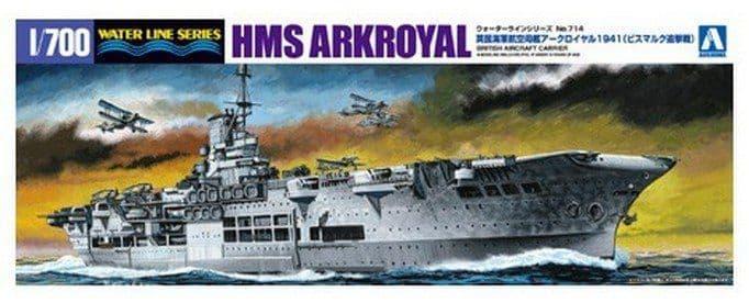 Aoshima 1/700 British Aircraft Carrier HMS Ark Royal 1941 # 01018