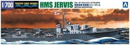 Aoshima 1/700 British Destroyer HMS Jervis # 05766