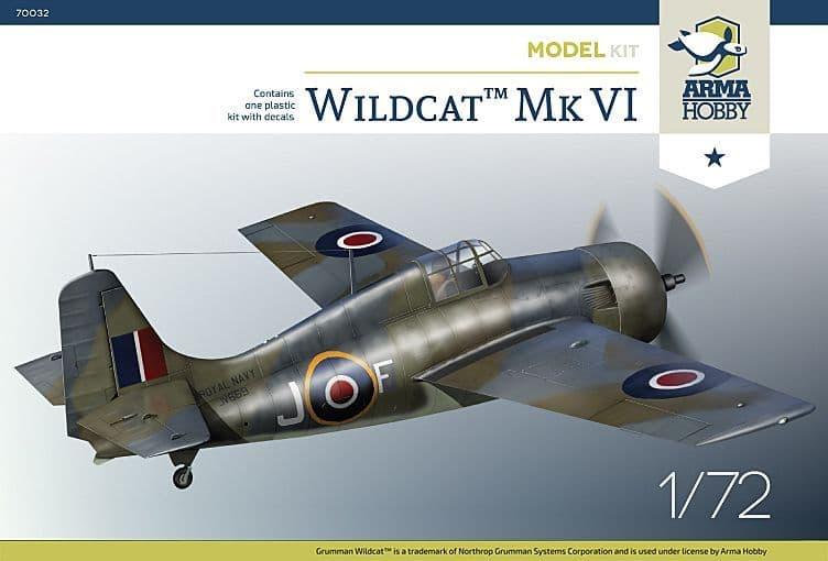 Arma Hobby 1/72 Grumman Wildcat Mk.VI # 70032