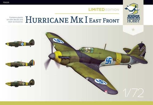 Arma Hobby 1/72 Hawker Hurricane Mk.I Eastern Front Limited Edition # 70025