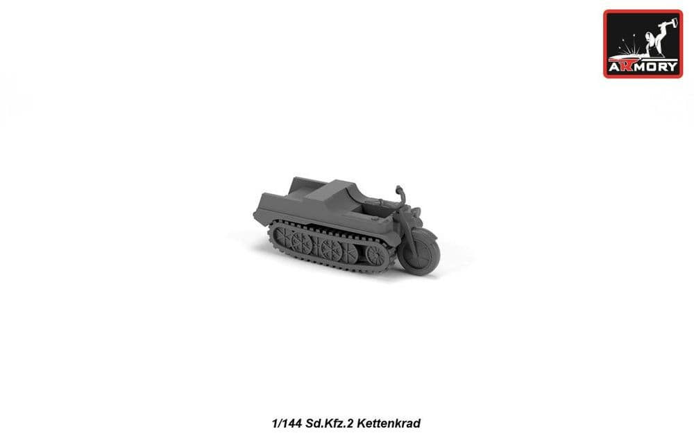 Armory 1/144 Sd.Kfz.2 Kettenkrad Resin Kit # 14202