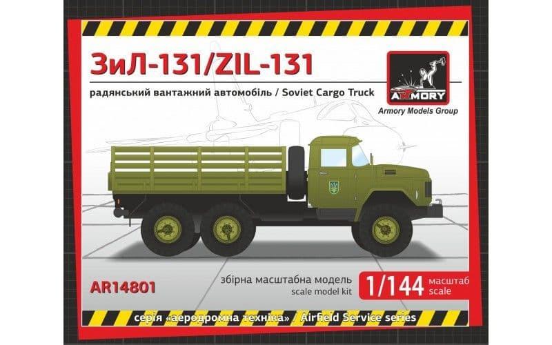 Armory 1/144 ZiL-131 Soviet Modern Cargo Truck # 14801