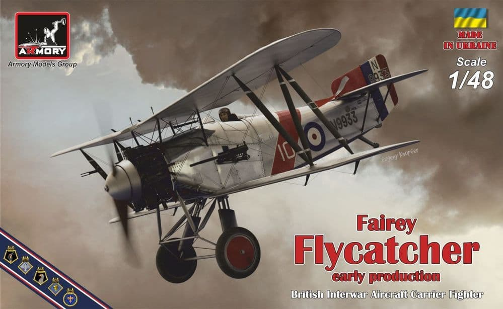 Armory 1/48 Fairey Flycatcher Early Production British Interwar Aircraft Carrier Fighter # 48001