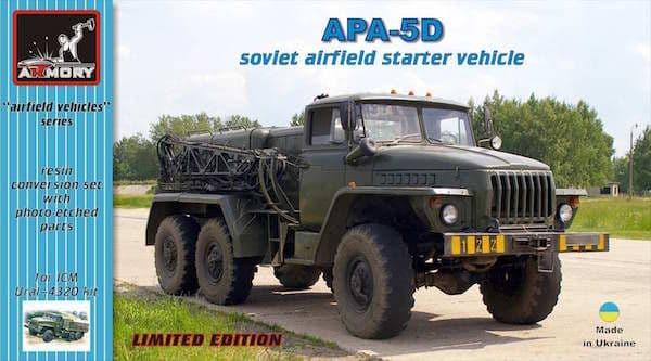 Armory 1/72 APA-5D Soviet Airfield Starter Vehicle Resin Conversion Set # 72302
