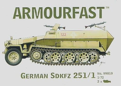 Armourfast 1/72 Sd.Kfz.251/1 Hanomag # 99019
